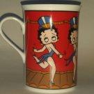 Betty Boop Danbury Mint Broadway Betty Mug Coffee Cup Glass Souvenir