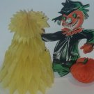 Vintage Halloween Beistle Comical Delight Scarecrow Centerpiece