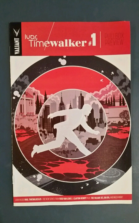 Valiant  Pullbox Preview Ivar, Timewalker #1