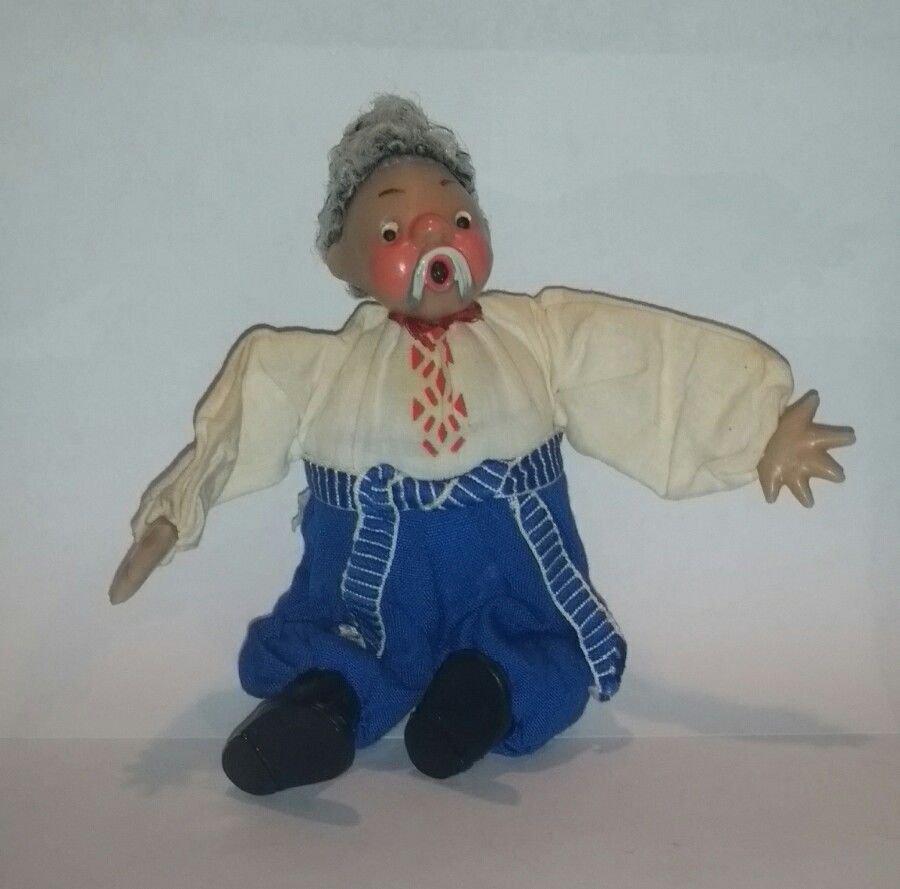 Vintage USSR Made Chub Doll circa 1963 Soviet Union Toy