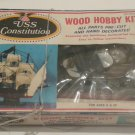 USS Constitution Wood Hobby Kit by Multiple Toymakers from 1972