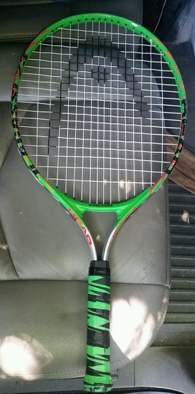 Head Ti. Agassi 23 Junior Tennis Racquet, Neon Green Black Orange