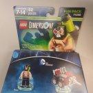 Lego Dimensions DC Comics Bane + Drill Driver Fun Pack 71240, 52 Pcs, New