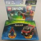 Lego Dimensions Fun Pack 71251, A-Team B.A. Baracus + Van,  73 Pieces, New