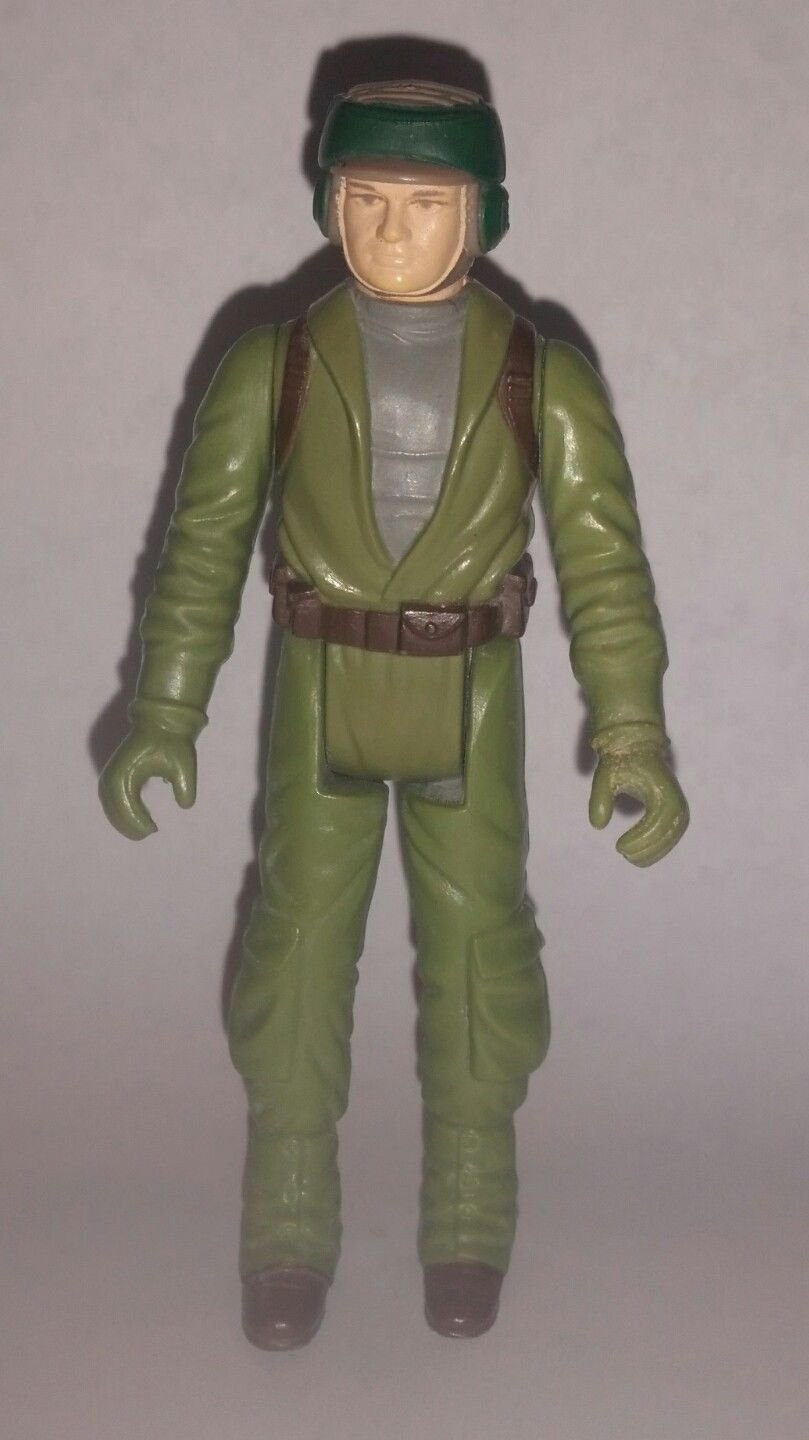 Vintage Kenner Star Wars Return of the Jedi Rebel Command Action Figure, 1983