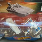 Hot Wheels Star Wars VII, First Order Transporter vs. Resistance X-Wing Fighter