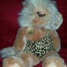 "GUND TARZ Caveman Lion Plush Stuffed Animal Style 2726, 1990, 15"""