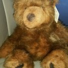 Russ Berrie  Timber the Teddy Bear Faux Mink Plush 13""