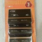 TDK Mini DV Tapes 3 pack 60 minute