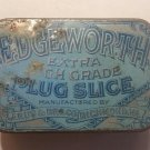 Vintage Edgeworth Extra High Grade Plug Slice Blue Pocket Tobacco Tin