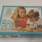 Imco 29 Piece Microscope Lab Kit with 3 lens turrents, 1980