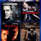 Gritty Thrillers: 4 Film Favorites (Blu-ray Disc, 2014, 4-Disc Set)