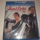 Hansel & Gretel Witch Hunters 3 disc set (Blu-ray 3D + Blu-ray + DVD )