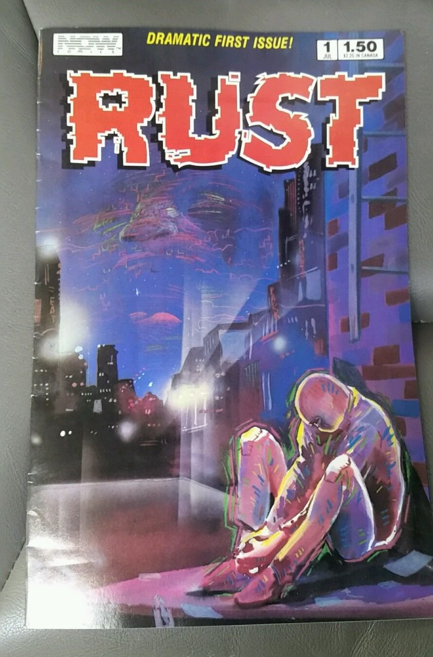 RUST Vol. 1 No. 1, Dramatic First Issue, 01 July 1987