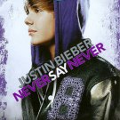 JUSTIN BIEBER: Never Say Never (Blu-ray/DVD, 2011, 2-Disc Set)