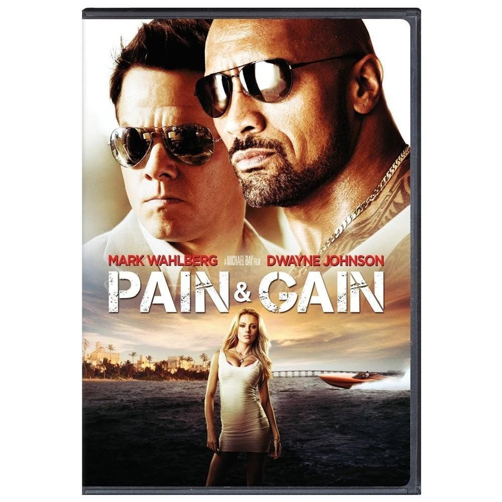 Pain & Gain (DVD, 2013)