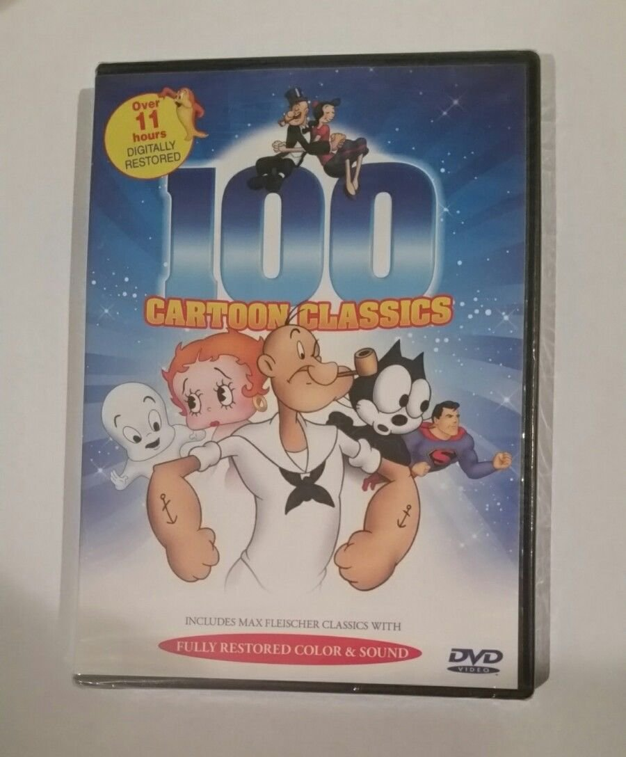 100 Cartoon Classics DVD