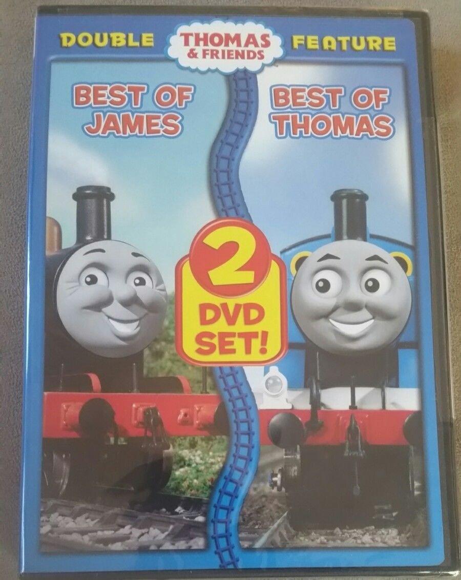 Thomas & Friends : Best of James/Best of Thomas (DVD,2010)