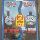 Thomas & Friends : Best of James/Best of Thomas (DVD,2010)