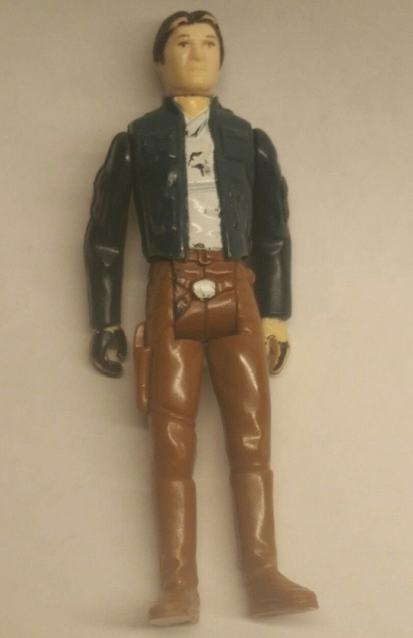 Vintage Kenner Star Wars Han Solo Action Figure in Bespin Outfit