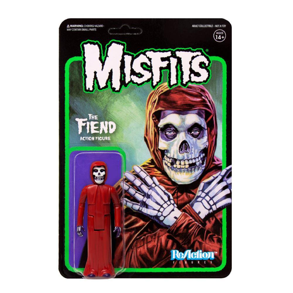 "Misfits The Fiend RED VARIANT 3.75"" Action Figure"