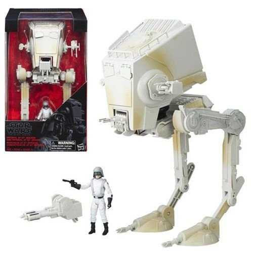 Star Wars the Black Series Imperial AT-ST Walker and 3 3/4-Inch Driver Figure