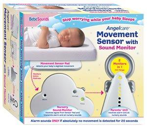 Bebe Sounds Movement Sensor With  Sound Monitor