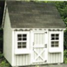 CHILDS GABLE PLAY HOUSE