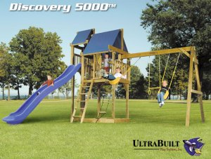 DISCOVERY 5000 SWING SET WITH FORT