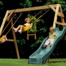 A FRAME SWING SET-  SHIPPING  INCLUDED