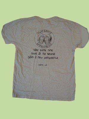 Men's Logo Cotton T-Shirt (Chocolate Brown,  Large)