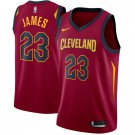 Cavaliers #23 Lebron James jersey red