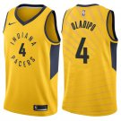 Oladipo pacers #4 men's Jersey yellow
