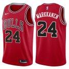 lauri markkanen Bulls jersey red