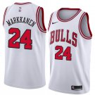 Men's lauri markkanen Bulls jersey white