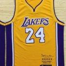 Kobe Bryant black mamba retired limited jersey yellow