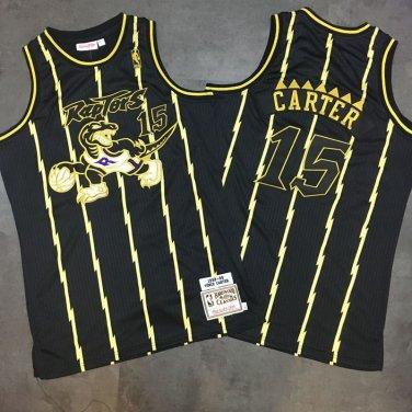 more photos 6175d 72575 vince carter raptors jersey black