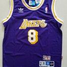 Youth KId Kobe Bryant lakers 8 retro jersey purple