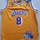 Youth KId Kobe Bryant lakers 8 retro jersey yellow