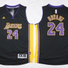 Men's Lakers 24 kobe bryant jersey black
