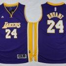 Men's Lakers 24 kobe bryant jersey purple
