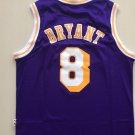 Men's Laker 8 kobe bryant throwback jersey purple