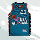 Men's Michael jordan 1996 all star jersey green