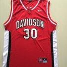Davidson wildcat 30 Stephen curry  college jersey red