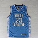 Men's North Carolina #23 Michael Jordan college jersey blue