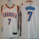 Men's Carmelo Anthony Thunders jersey white