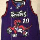 Raptors #10 Demar Derozan Men's stitched jersey purple