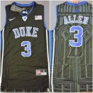 Men's  Duke 3 Grayson Allen Jersey Black
