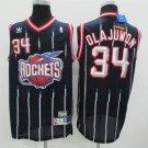 Houston Rockets 34 Hakeem Olajuwon Classics Basketball Jersey