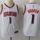 Youth Devin Booker Phoenix Suns #1 Basketball Jersey white
